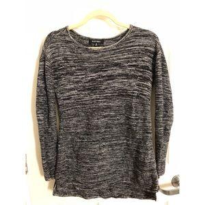 Ellen Tracy Womens Knit Boat Neck Pullover Sweater